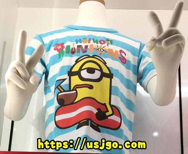 USJ ミニオン ハワイアン Tシャツ