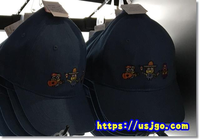USJ ミニオンデニム帽子