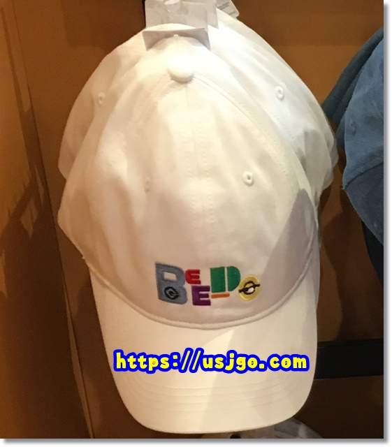 USJ ミニオン ホワイト帽子