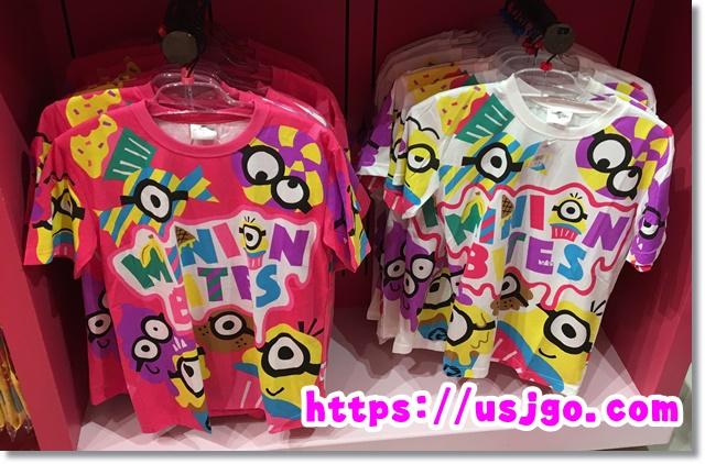 USJ ミニオン カラフルTシャツ