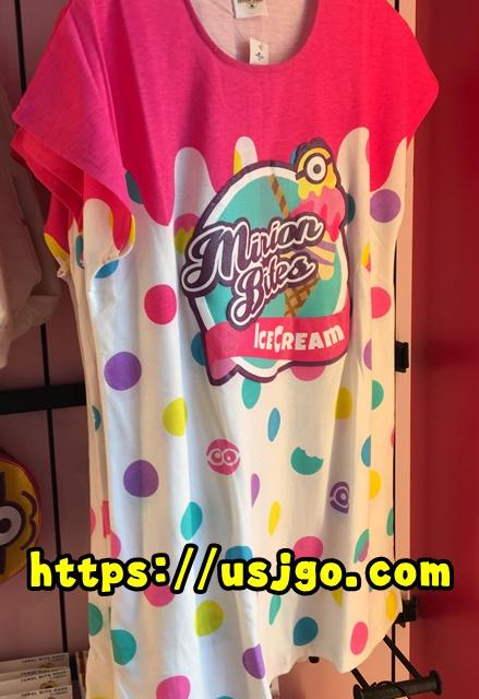 USJ ミニオン アイスクリーム Tシャツ