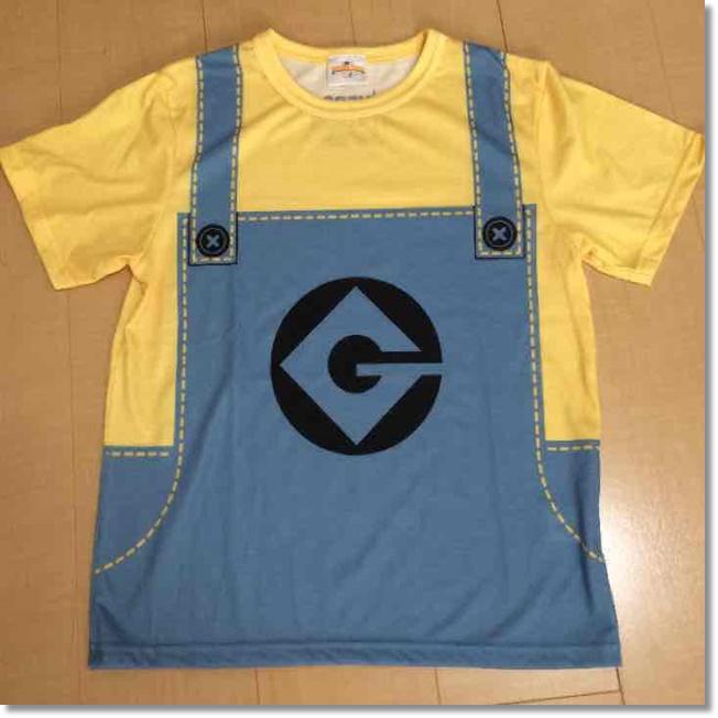 USJ ミニオン オーバーオール風Tシャツ