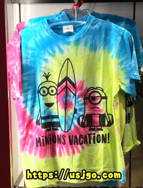 USJ ミニオンズ バケーションTシャツ