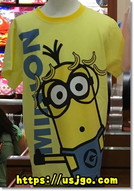 USJ ミニオン メガフェイスTシャツ