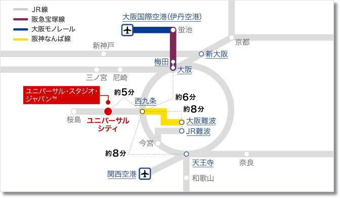 usj 路線図