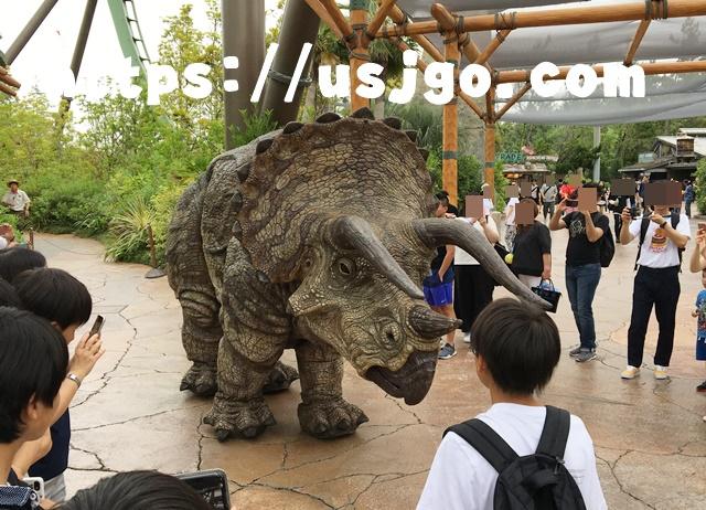 USJ ジュラシック・パーク 恐竜2