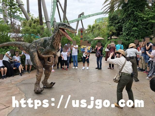 USJ ジュラシック・パーク 恐竜1
