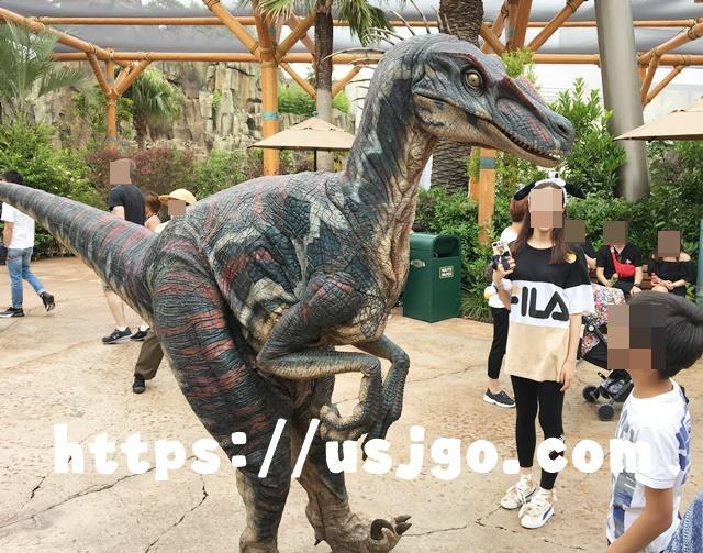 USJ ジュラシック・パーク 恐竜4