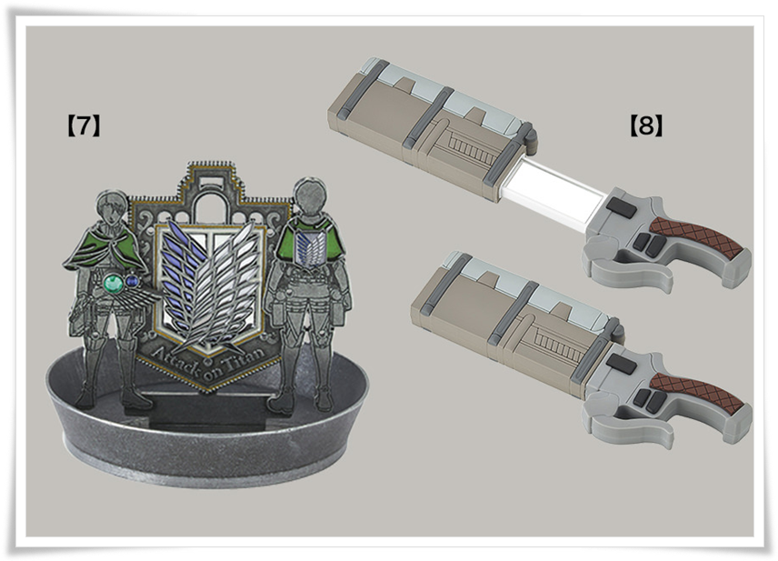 USJ進撃の巨人2020グッズ ジュエリースタンド&ピアス ミラー 画像