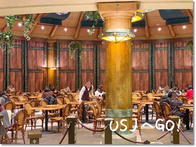 進撃の巨人レストラン 調査兵団レストラン 店内