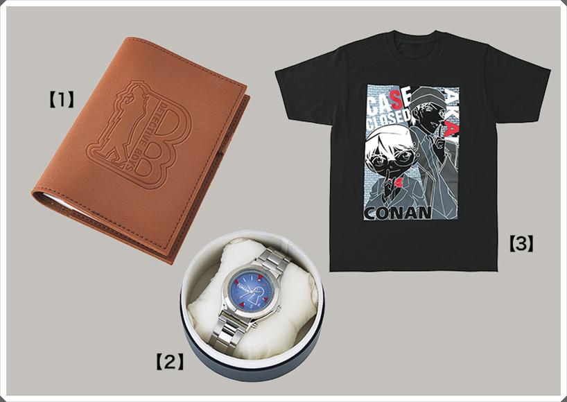 USJコナン2020手帳 腕時計 Tシャツ 画像